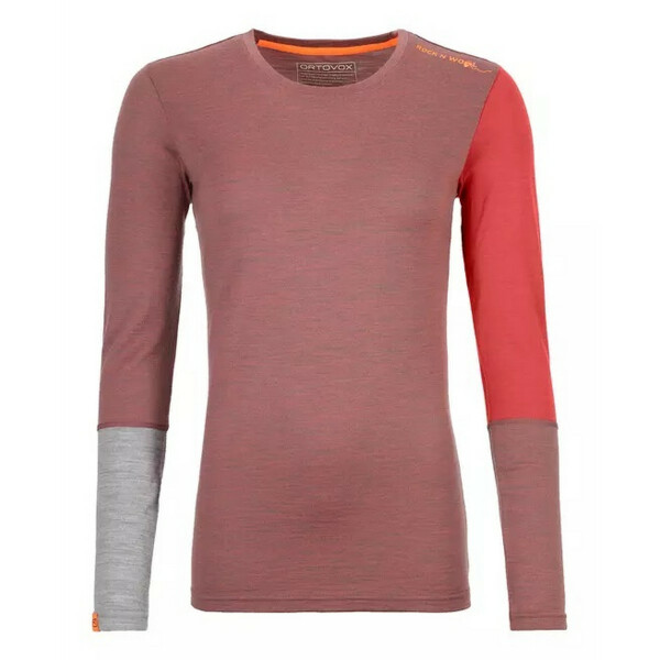 ORTOVOX 185 ROCKNWOOL LONG SLEEVE WOMAN